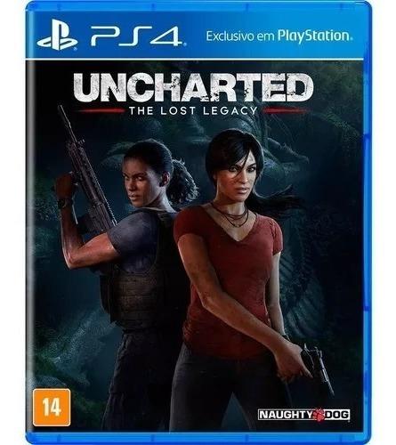 Uncharted The Lost Legacy Dublado Ps4 Original 1