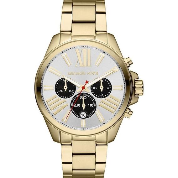 Relógio Michael Kors Feminino Cronógrafo Mk5838