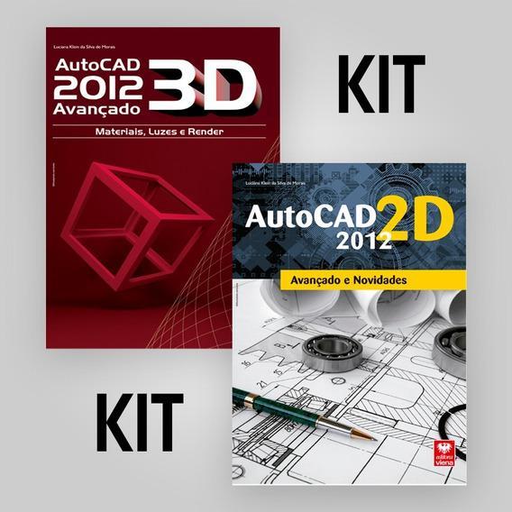 Kit Livros Autocad 2d E 3d 2012