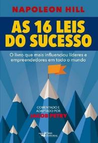 16 Leis Do Sucesso, As - Faro Editorial