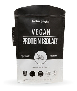 Vegan Pea Protein Isolate 2lbs Protein Project. Con Sabor