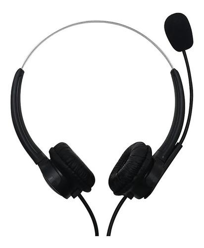 Imagen 1 de 8 de Auricular Usb Con Micrófono Jetion Jet-103u Para Pc Notb Ps4