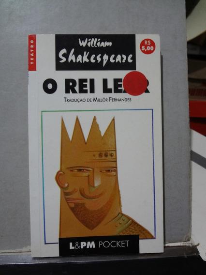 Livro O Rei Lear William Shakespeare Trad. Millor Fernandes