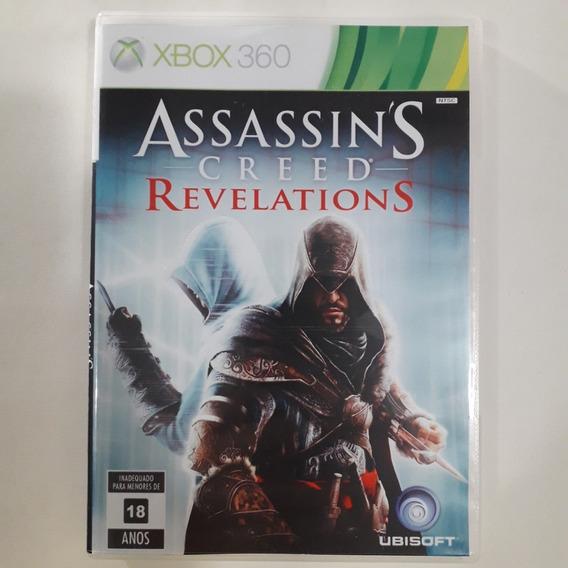 Xbox 360 - Assassin´s Creed Revelations - Original Usa/ntsc - Mídia Física - Capa Reimpressa - Sem Manual