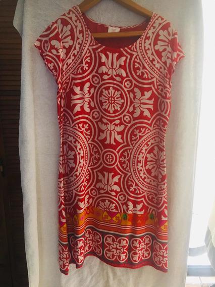 Vestido Color Rojo Talla Mediana A Grande