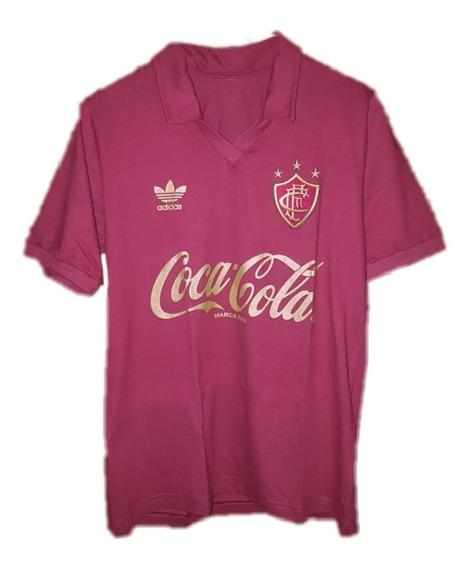Camisa Retrô Fluminense Anos 80 Comemorativa Promoção