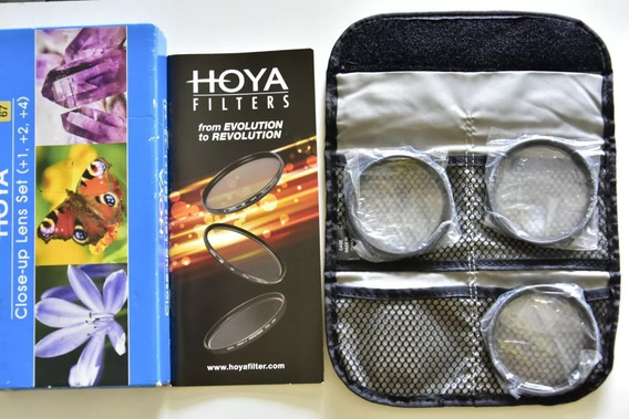 Kit 3 Filtros Hoya 67mm Canon Nikon