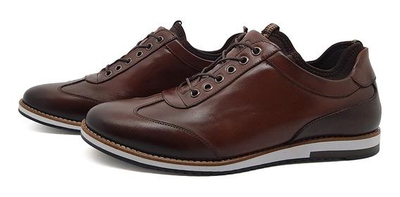 Sapato Casual Couro Avalon Megane Nescau