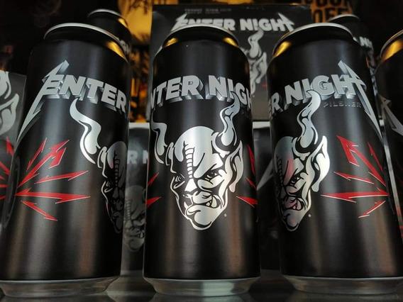 Metallica Enter Night Lata Nueva, Iron Maiden, Motorhead