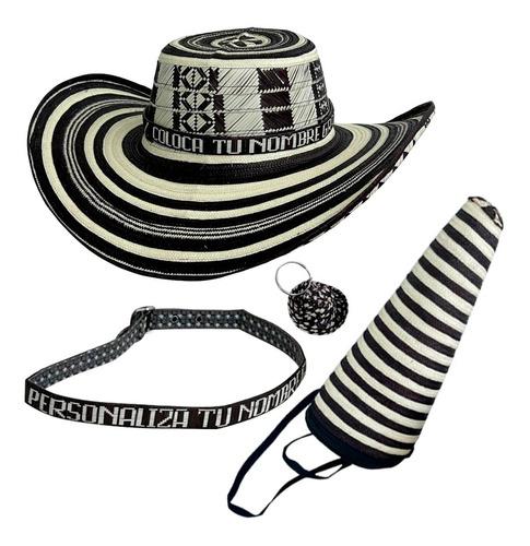 Sombrero Vueltiao 15 Vueltas Original Quinceano Sin Pega