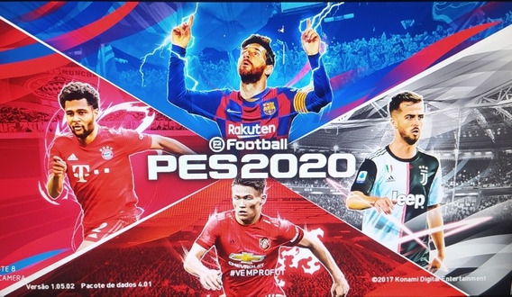 Patch Pes 2020 Para Pes 2018, Xbox 360 Travado E Destravado.