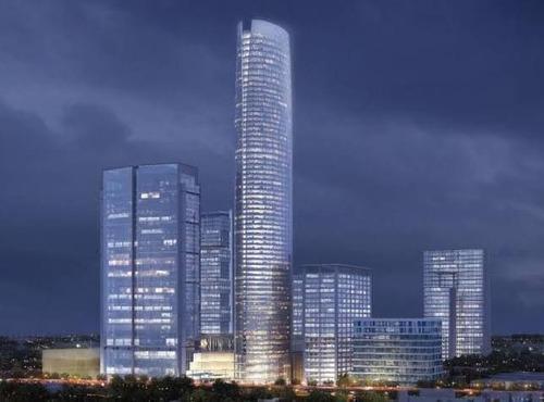 Imagen 1 de 16 de Oficina En Renta , Torre Mitikah , Ofic.4 300m2 , $31.00