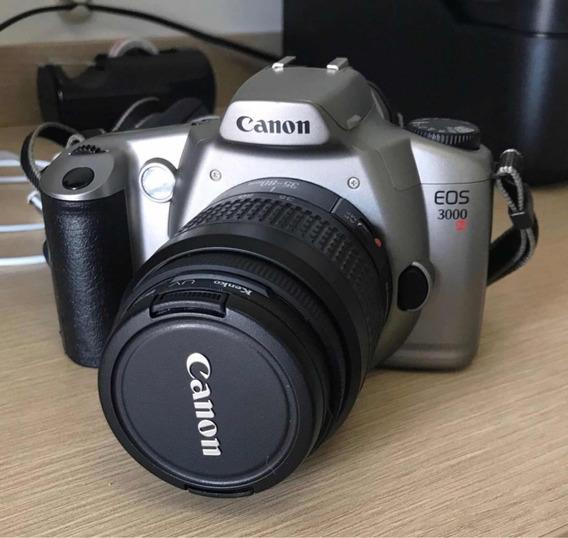 Câmera Analógica Canon Eos 3000n