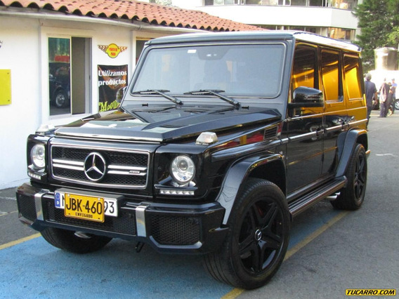 Mercedes Benz Clase G Amg G 63 At 5500 Cc Blindado