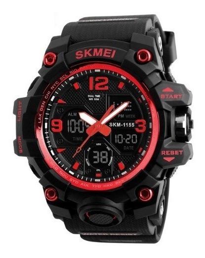 Relógio Masculino Skmei 1155 Original Esportivo Prova D´água