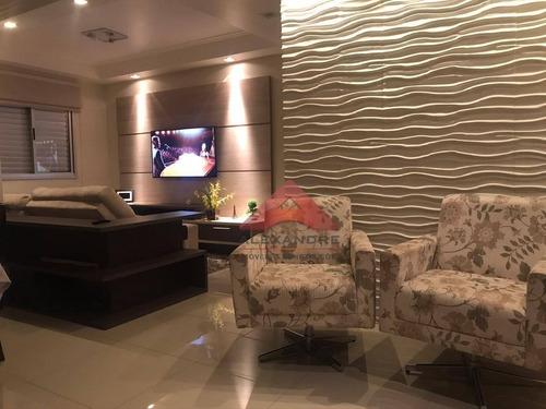Apartamento Com 3 Dormitórios À Venda, 72 M² Por R$ 360.000,00 - Monte Castelo - São José Dos Campos/sp - Ap4127