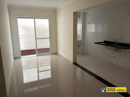 Apartamento Com 2 Dormitórios, 60 M² - Venda Por R$ 360.000,00 Ou Aluguel Por R$ 1.500,00/mês - Vila Euro - São Bernardo Do Campo/sp - Ap1144