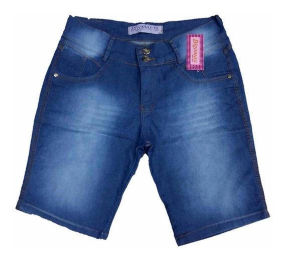 Roupas Femininas Short Jeans Plus Size Festas Bermuda