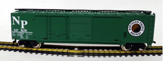Vagón Box Car Northern Pacific - H0 1/87 Mehano