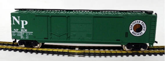 Vagón Box Car Northern Pacific - H0 1/87 Mehano