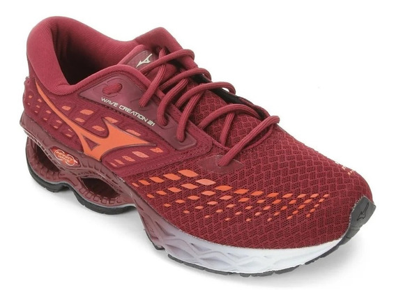 Tenis Mizuno M Wave Creation 21 4144890 0021 Lar Original