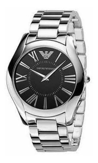 Relógio Empório Armani - Prata Masculino Super Slim Har2022