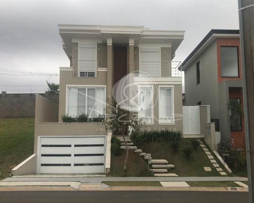 Imagem 1 de 30 de Casa A Venda No Residencial Alecrins Em Campinas  -  Alphaville -  Imobiliária Em Campinas - Ca00957 - 69014931