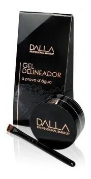 Gel Delineador Vegano Á Prova D´ Água - Dalla Makeup
