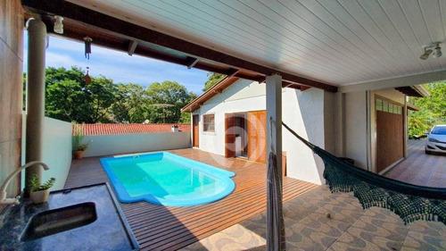 Casa Com 140m², 03 Dormitórios, Próximo Do Centro Da Cidade - Ca1123