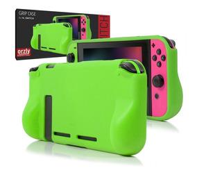 Funda Silicona Rigida Nintendo Switch Case Protector Orzly