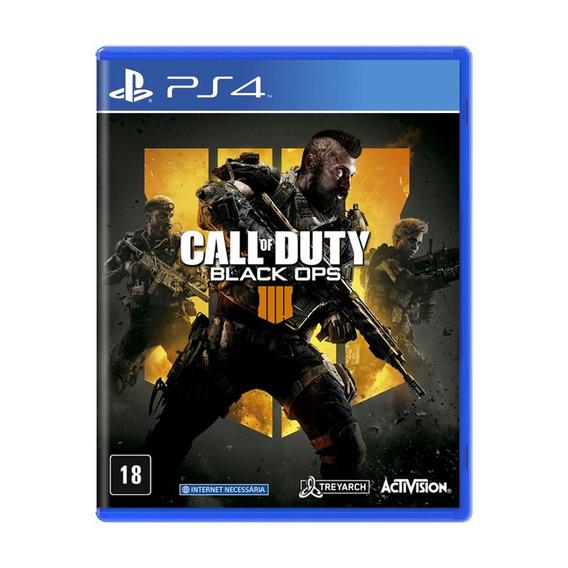 Jogo Mídia Física Call Of Duty Black Ops 4 Pra Playstation 4