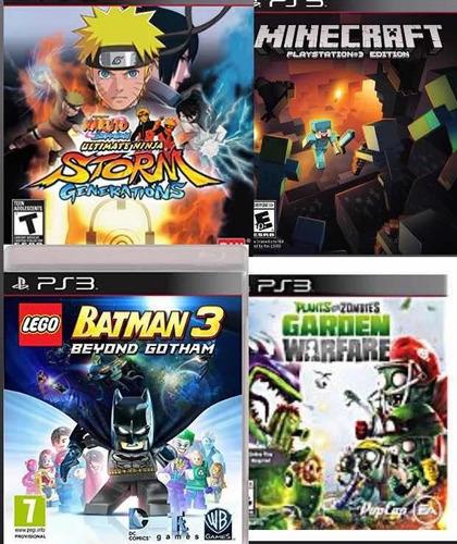 Naruto Ps3 Playstation 3 Juegos Infantiles