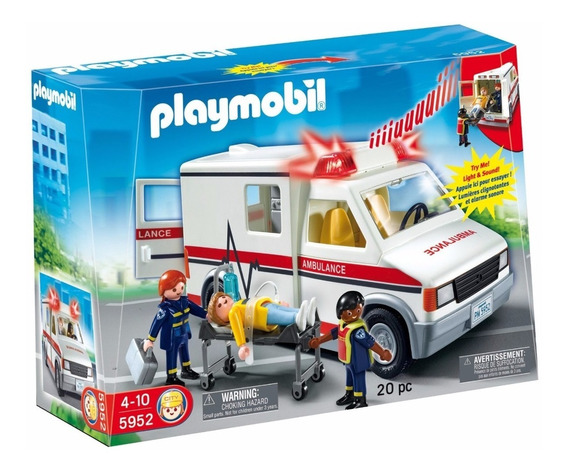 Playmobil 5681 Ambulancia - Giro Didáctico