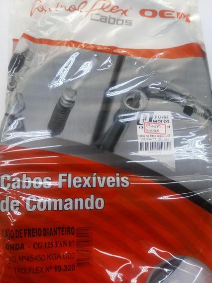 Cabo Freio Dianteiro Cg 125 Fan Titan 02 A 2008 Es Ks Cargo