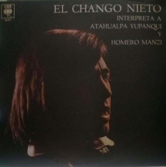 Lp El Chango Nieto (interpreta A Atahualpa Yupanqui Y Homero
