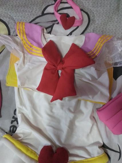 Sailor Moon Traje Disfraz Chibi Moon Niña 8 Años