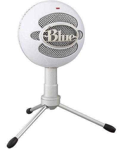 Microfono Logitech Blue Snowball Ice- Blanco Usb