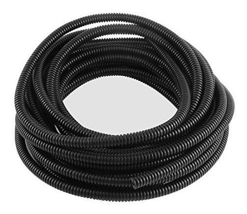 Uxcell Fuelle De Tubo Flexible Corrugado Conducto El Cable D