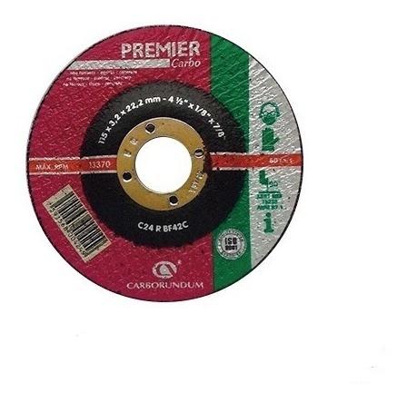 Disco Corte Concreto 4 1/2 X 1/8 Premier Carborundum (20pza)
