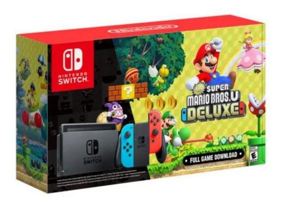 Console Nintendo Switch Super Mario Bros Deluxe - Nintendo