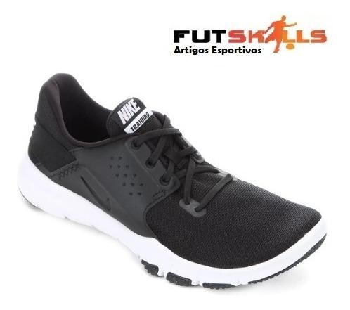 Tênis Nike Flex Control Tr3 Masculino - Preto E Branco