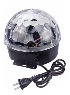 Bola Led Esfera Magic Ball 6 Colores Fiesta Dj Macrolite