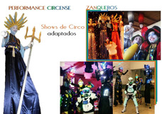 Hora Loca, Zanquero Led, Show, Personajes, Circo.