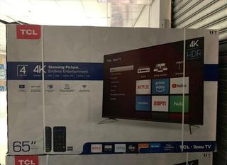 Tcl Smart Hdr Tv 4k 65 Pulgadas