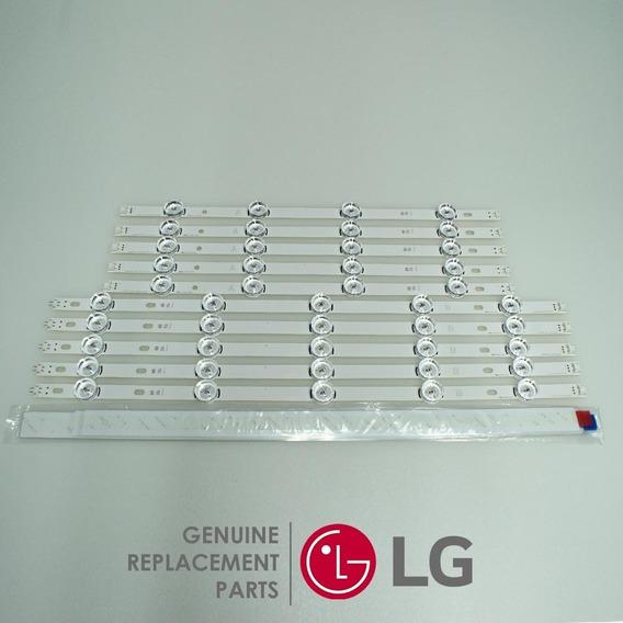 Kit 8 Barra Led LG 50lb5500 50lb5600 50lb5800
