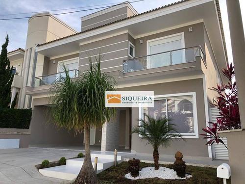 Imagem 1 de 30 de Residencial Sunset - Casa Com 4 Dormitórios À Venda, 368 M² Por R$ 2.200.000 - Parque Campolim - Sorocaba/sp - Ca2159