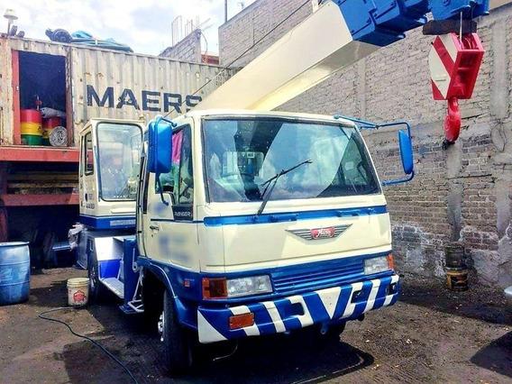 Grua Kato Nk75m-v Montada Sobre Camion