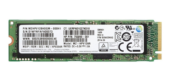Ssd : Hp 128 Gb Internal Solid State Drive - Sata - M.2 228