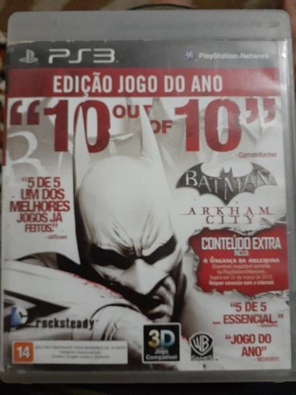 Batman Arkham City Ps3 Midia Física