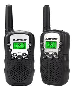 2 Radios Baofeng Bf T3 Uhf Largo Alcance Lcd Buen Sonido